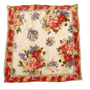 April Cornell Shabby Chic Square accent pillow